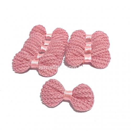 Lacinho de Crochê Melaço 2cm x 4,5cm Rosê 10 Unidades Cor - 06