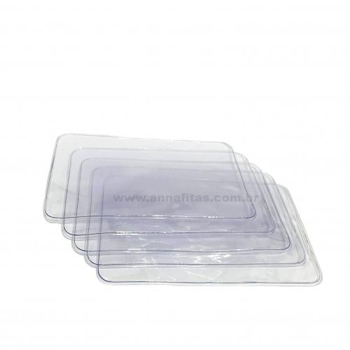 Plastico Selado para Laço Piscina MÉDIO de 8x12cm Com 5 Unidades