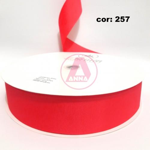 Fita Gorgurão Sanding 38 Milimetro com 10 metros de Comprimento Cor-257