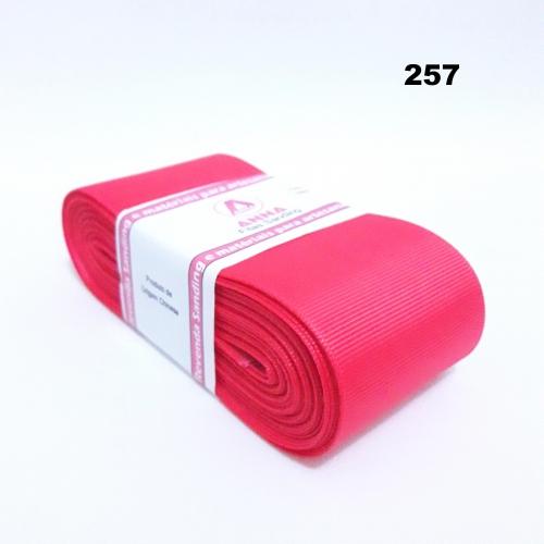 Fita de Gorgurão Sanding de 52mm com 10 Metros, Nº12  Cor - 257