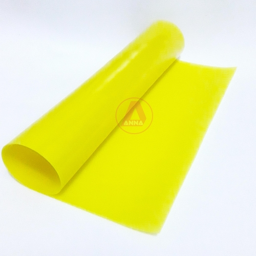 Lonita de Silicone cor Amarelo Citríco 23cm por 40cm a unidade