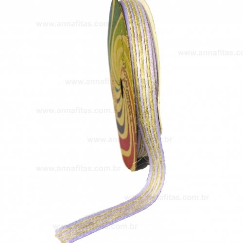 Fita de SISAL SINIMBU de 10mm com 10 Metros Cor- 05 Lilás