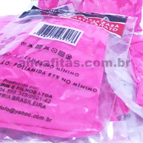 Pacote com 10 unidades de Meias de Seda Cor : 36 Rosa Pink