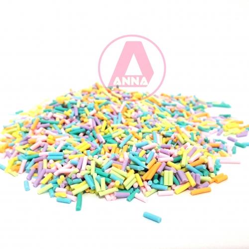 Aplique Granulado Colorido Pacote com 15 Gramas