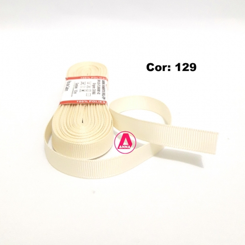 Fita de Gorgurão Sanding de 10mm com 10 Metros, Nº2  Cor - 129