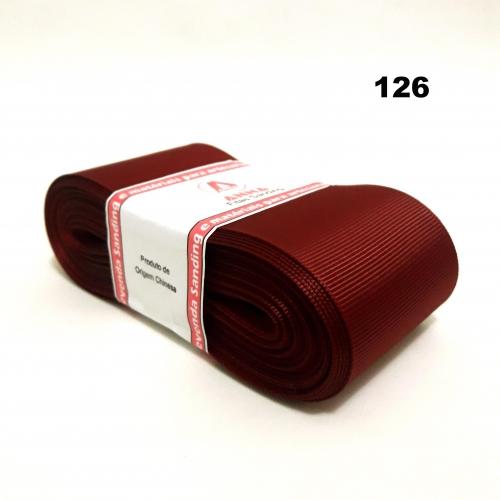 Fita de Gorgurão Sanding de 52mm com 10 Metros, Nº12  Cor - 126