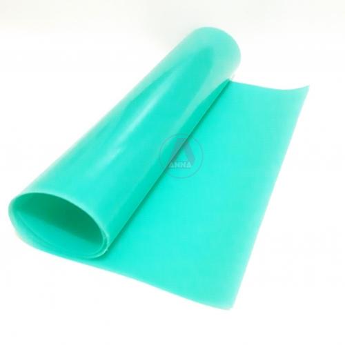 Lonita de Silicone cor Verde Água 23cm por 40cm a unidade
