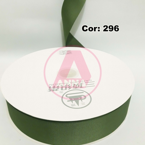 Fita Gorgurão Sanding 38 Milimetro com 10 metros de Comprimento Cor-296