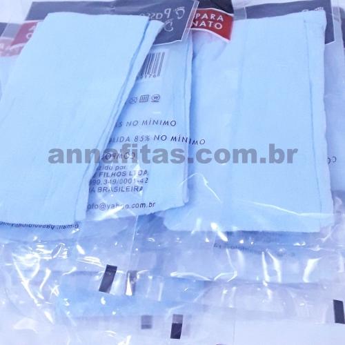 Pacote com 10 unidades de Meias de Seda Cor : 28 Azul Bebê