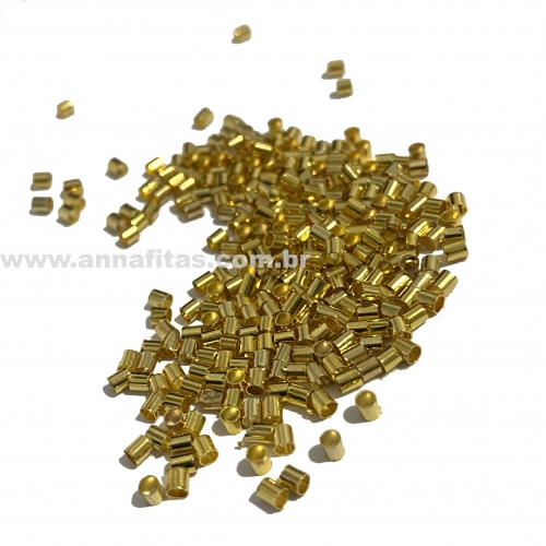 Fixador para Pulseira Dourado de 2mm com 9 gramas Ref: FIXP02