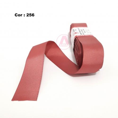 Fita de Gorgurão Sanding de 22mm com 10 Metros, Nº5 Cor - 256