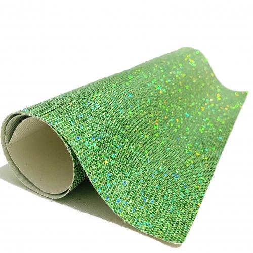 Lonita glitter Sextavado Verde 24 por 40 cm Ref 42