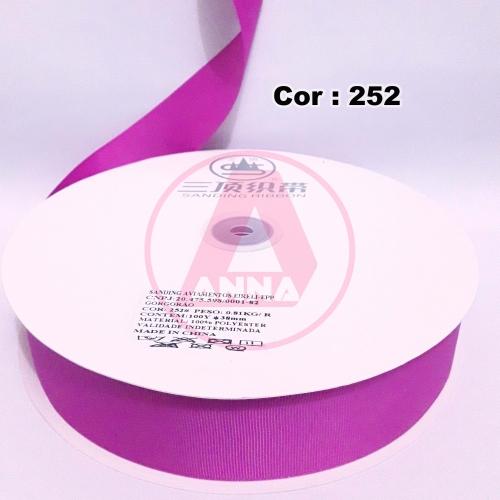 Fita Gorgurão Sanding 38 Milimetro com 10 metros de Comprimento Cor-252