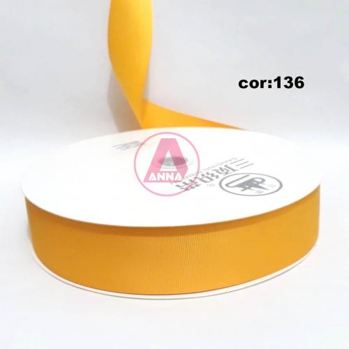 Fita Gorgurão Sanding 38 Milimetro com 10 metros de Comprimento Cor - 136