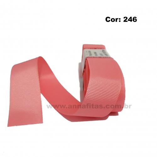 Fita de Gorgurão Sanding de 22mm com 10 Metros, Nº5 Cor - 246