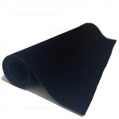 Lonita camurça Nobuck para laços 23x40cm Cor - PRETO