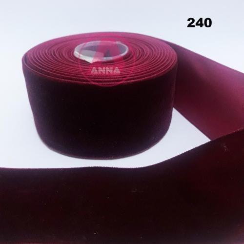 Fita de Veludo Sanding 38mm Metro Cor-240