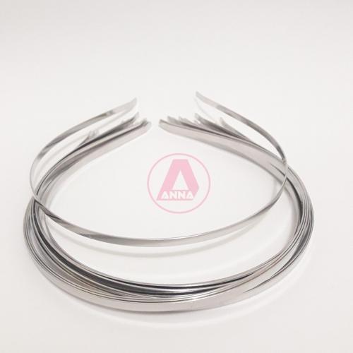 Tiara Ferro Prata Dúzia 4MM
