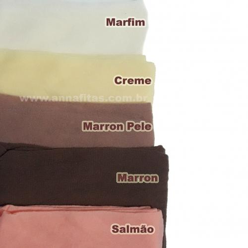 Pacote de Meia de Seda Passo Fofo com 10 unidades 2 Cores de cada : 24-Marfim, 03-Creme, 15-Marrom pele, 25-Marron e 33-Salmão