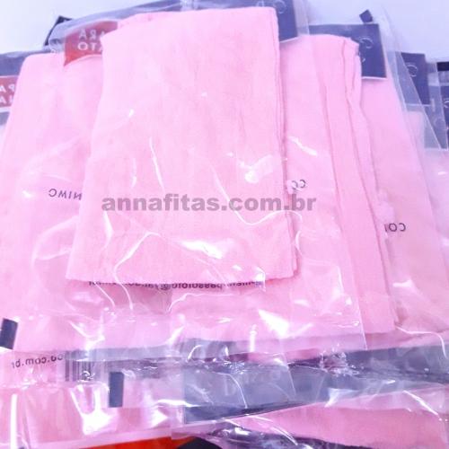 Pacote com 10 unidades de Meias de Seda Cor : 35 Rosa bebê