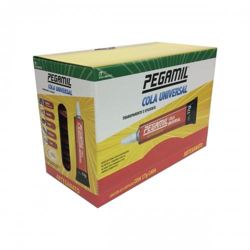 Caixa de Cola Pegamil para Artesanatos de 17g com 12 unidades