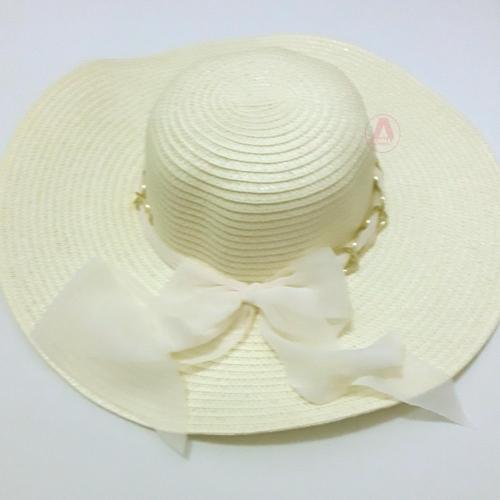 Chapéu de Praia feminino Palha