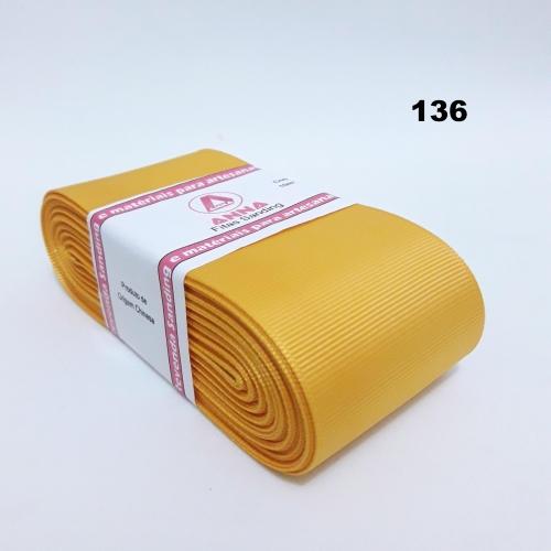Fita de Gorgurão Sanding de 52mm com 10 Metros, Nº12  Cor - 136