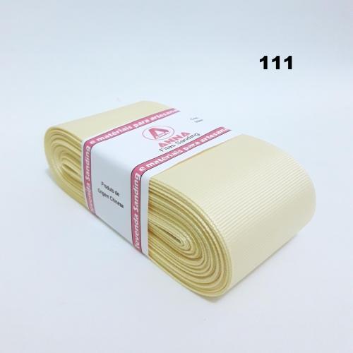 Fita de Gorgurão Sanding de 52mm com 10 Metros, Nº12  Cor - 111