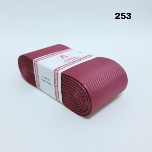 Fita de Gorgurão Sanding de 52mm com 10 Metros, Nº12  Cor - 253