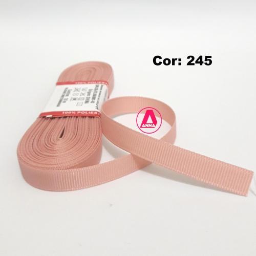 Fita de Gorgurão Sanding de 10mm com 10 Metros, Nº2  Cor - 245
