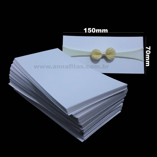 Papelete para Faixa Recém- nascido 150mm/70mm com 100 Unidades