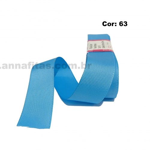 Fita de Gorgurão Sanding de 22mm com 10 Metros, Nº5 Cor - 63