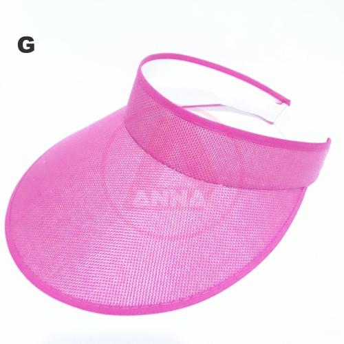 Viseira de Praia para Adulto cor Rosa