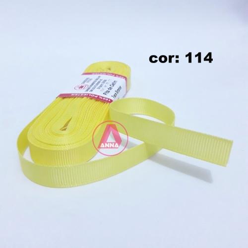 Fita de Gorgurão Sanding de 10mm com 10 Metros, Nº2  Cor - 114