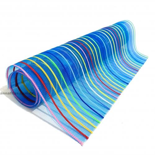 Lonita em Tela PVC Arco iris 24x40cm Ref:  34