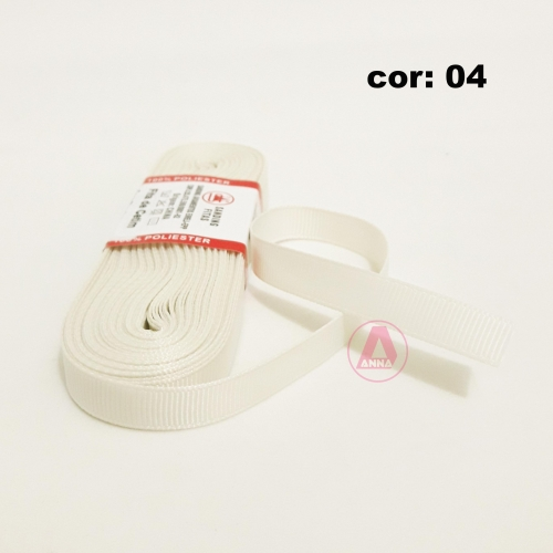 Fita de Gorgurão Sanding de 10mm com 10 Metros, Nº2  Cor - 04