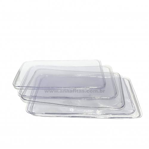 Plastico Selado para Laço Piscina PEQUENO de 6x10cm Com 5 Unidades