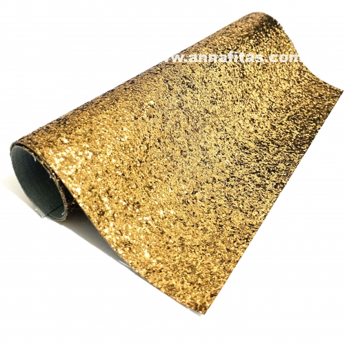 Lonita glitter Flocado BRONZE 24 por 40 cm Ref: 31
