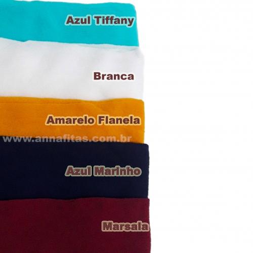 Pacote de Meia de Seda Passo Fofo com 10 unidades 2 Cores de cada : 08-Azul Tiffany, 16-Branca, 05-Amarelo Flanela, 11-Azul Marinho e 27-Marsala