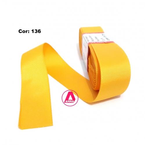 Fita de Gorgurão Sanding de 22mm com 10 Metros, Nº5 Cor - 136